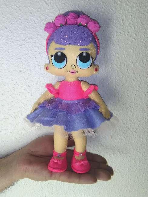 Imagen Muñeca lol sugar queen con brillo