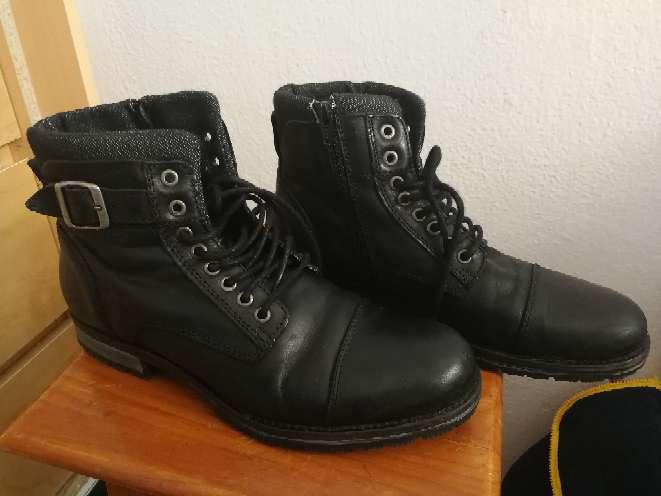 Imagen botas de piel Jack & Jones