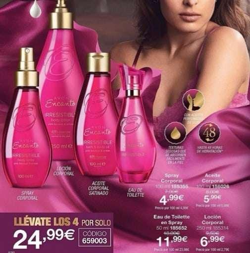 Imagen Perfumes avon