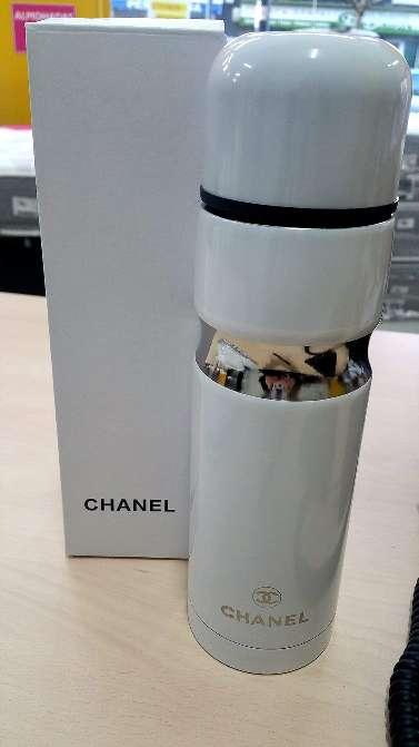 Imagen producto Termo Chanel nuevo a estrenar para bebidas frias y calientes, hielo, sopas, café, purés, termos infantiles, leche, alimentos. 3