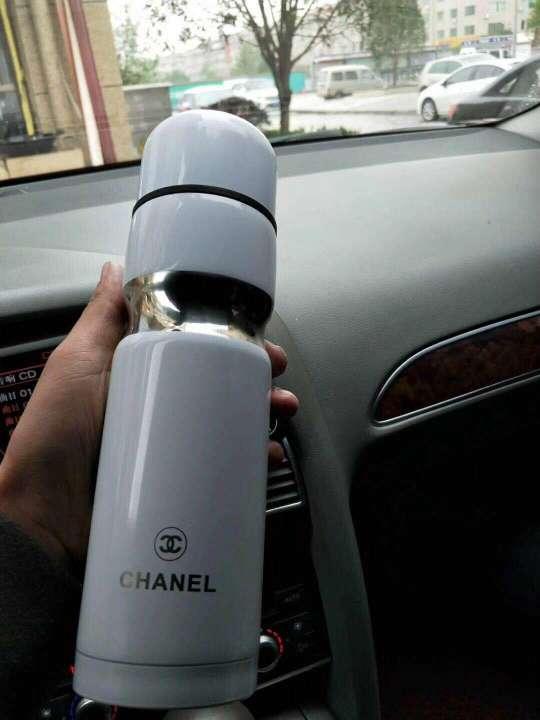Imagen producto Termo Chanel nuevo a estrenar para bebidas frias y calientes, hielo, sopas, café, purés, termos infantiles, leche, alimentos. 1