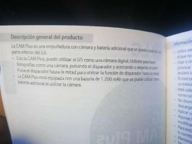 Imagen producto Cámara LG g5 3