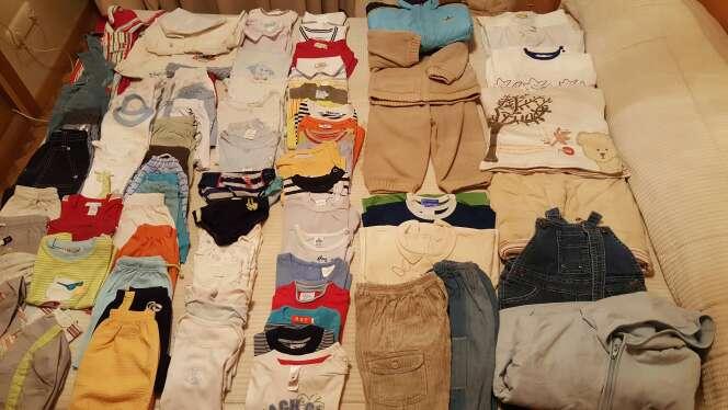 Imagen Lote de ropa para niño, talla 12 meses.