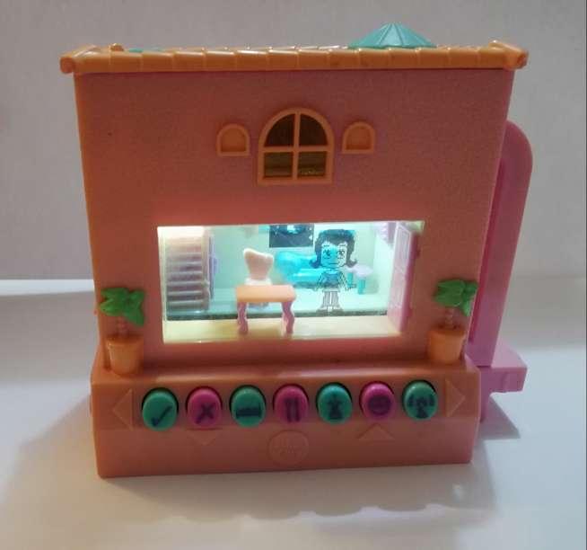 Imagen Casa pixel chix mattel rosa con piscina