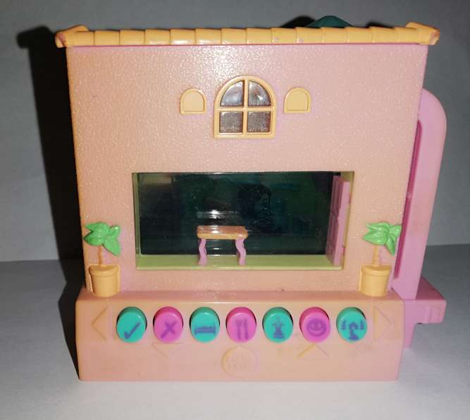 Imagen producto Casa pixel chix mattel rosa con piscina 3