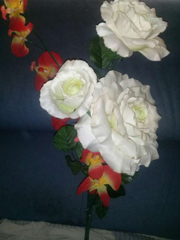 Imagen flores artificiales
