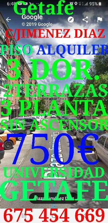 Imagen producto Piso Getafe alquiler 750€  1