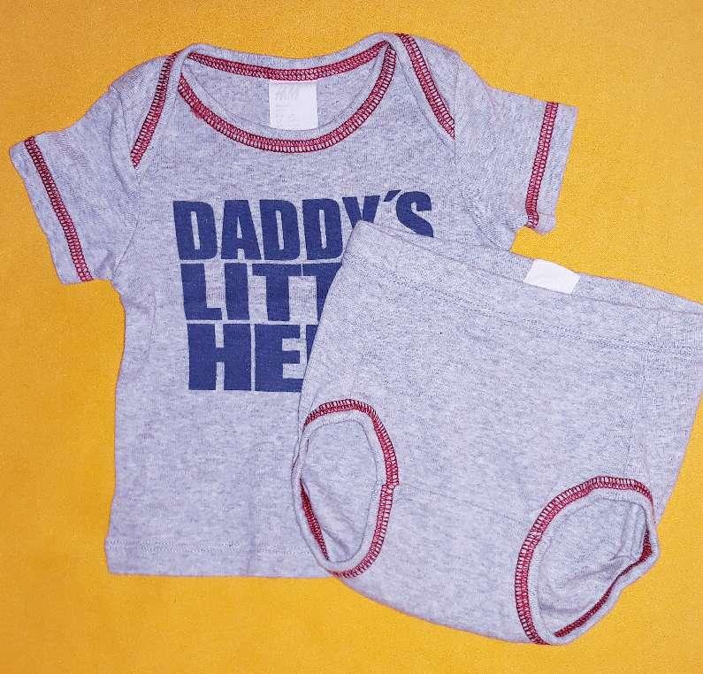 Imagen producto Conjunto bebé H&M, 2-4m.  3