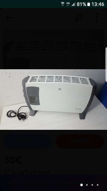 Imagen Calefactor taurus 2000