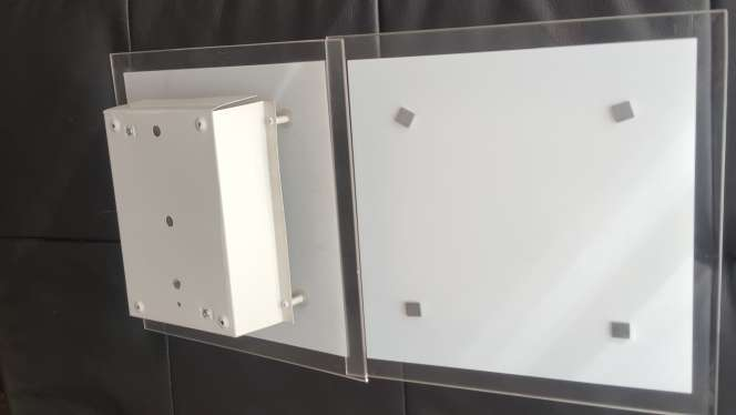 Imagen producto Dos plafones de cristal 1