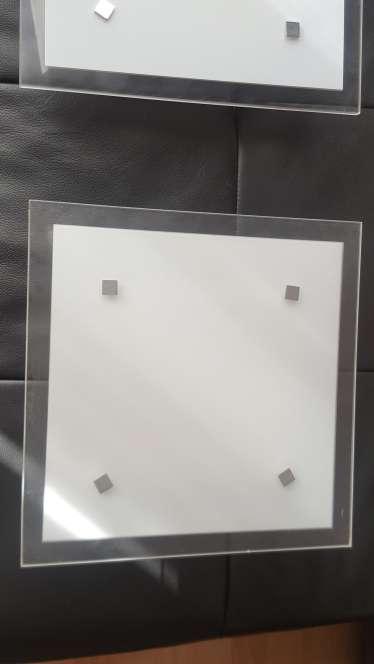 Imagen producto Dos plafones de cristal 4