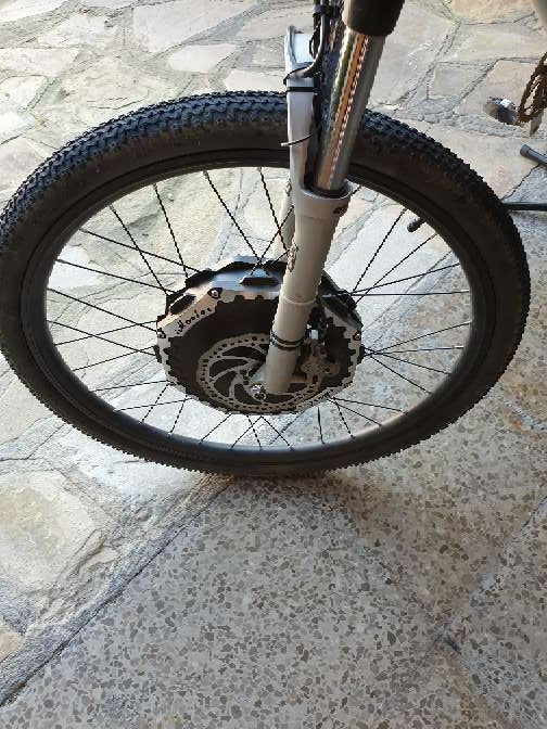 Imagen producto Bicicleta eléctrica motor. imortor 2.0 26