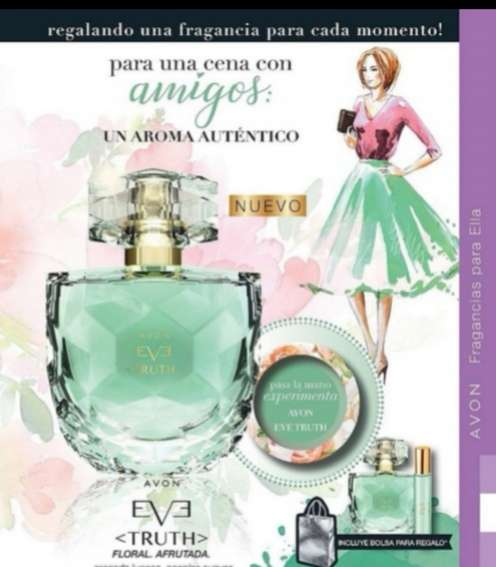Imagen producto Perfume Eve truth o avon luck 1