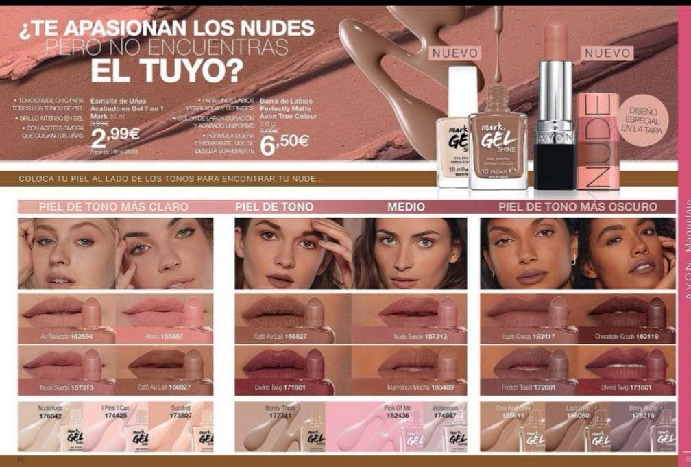 Imagen Esmalte +barra de labios  nudes