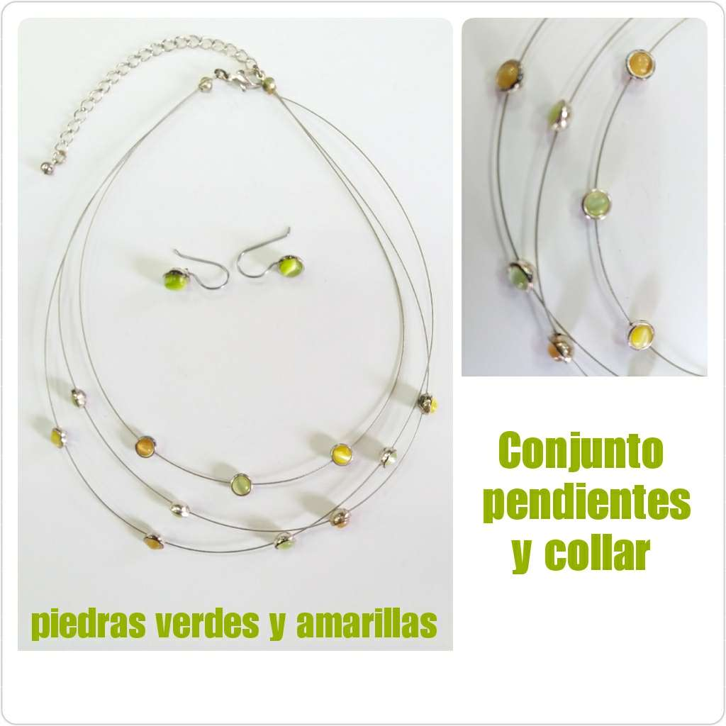 Imagen Conjunto de pendientes y collar