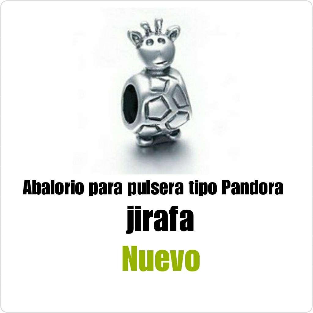 Imagen producto Abalorio tipo Pandora jirafa. Nuevo  1