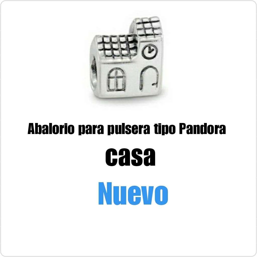 Imagen producto Abalorio tipo Pandora casa. Nuevo.  1
