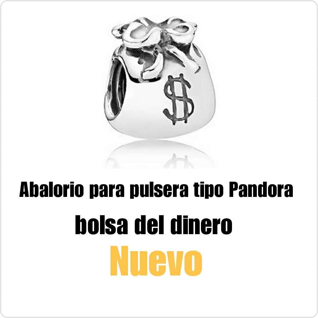Imagen Abalorio tipo Pandora bolita del dinero. Nuevo