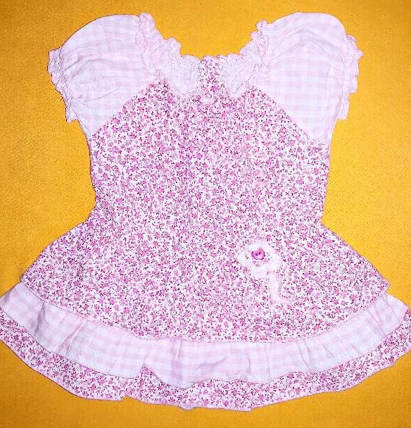 Imagen producto Vestido vestir bebé, 3m.  1
