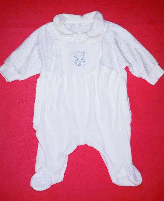 Imagen Pelele recién nacido, 0-1m.