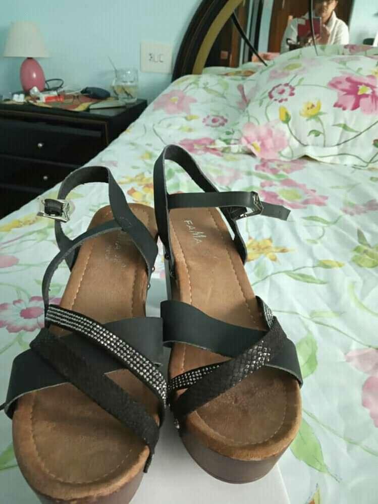 Imagen zapato de color negro