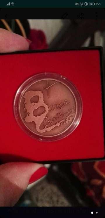 Imagen moneda del centenario del barça