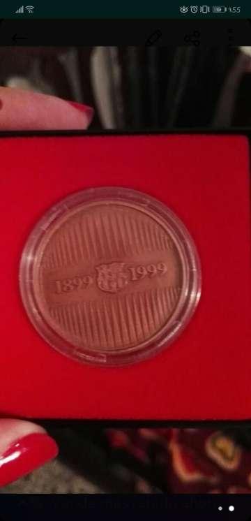 Imagen producto Moneda del centenario del barça 2