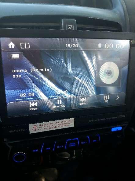 Imagen DVD coche sd,bluetooth y manos libres.