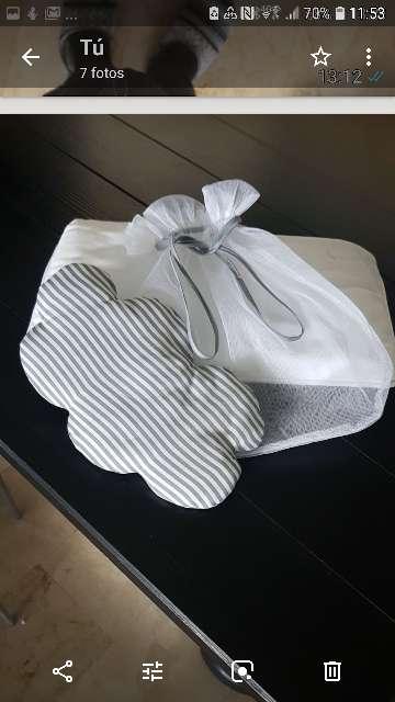 Imagen producto Mosquitera para coche y cuco bebé.  5
