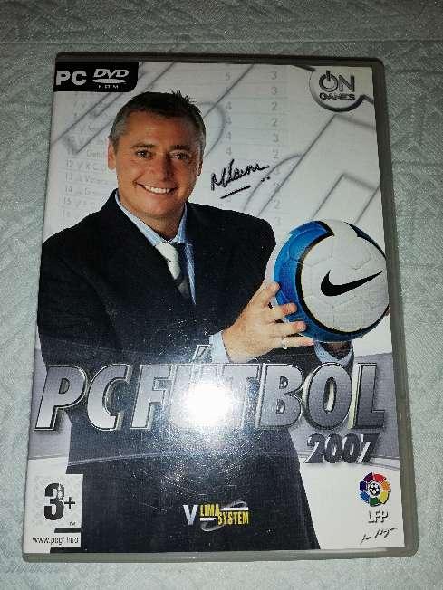 Imagen producto PC Fútbol 2007  1