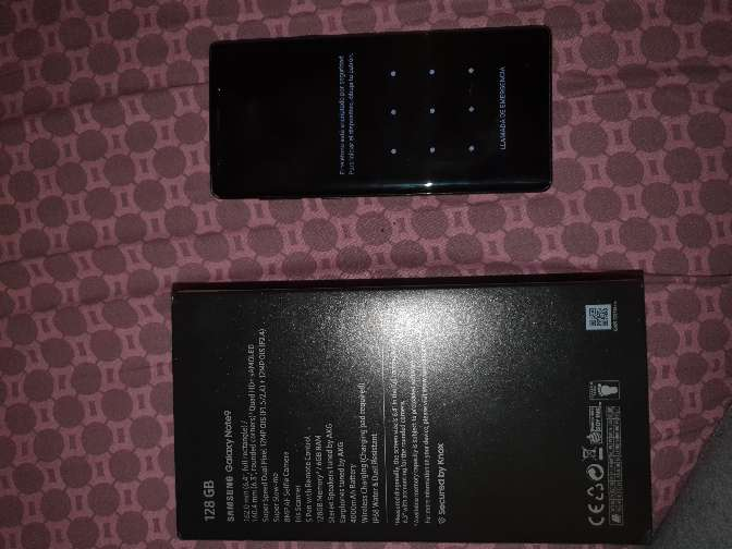 Imagen producto Samsung note 9 5