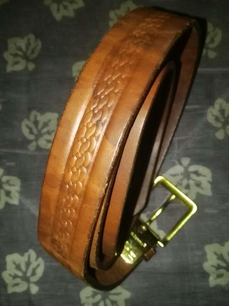Imagen cinturón cuero