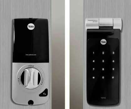 Imagen producto Cerradura digital Biométrica con Bluetooth YDF40 Yale 1