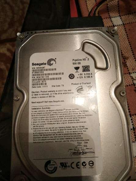 Imagen producto Disco duro HD DE 500Gb  2