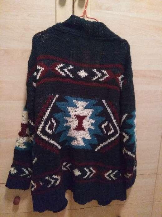Imagen producto Chaqueta de lana con dibujos 2