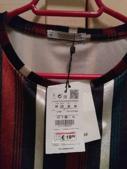 Imagen producto Vestido de rayas NUEVO CON ETIQUETA 1