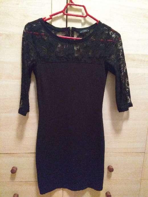 Imagen producto Vestido negro ajustado 2
