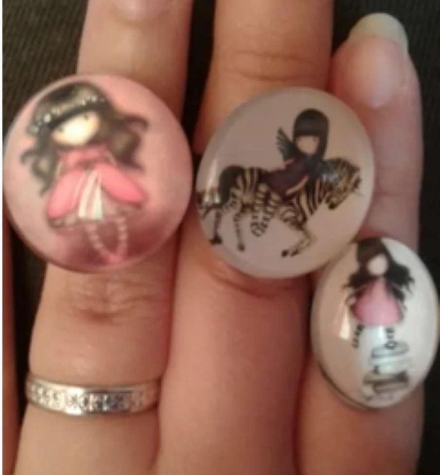 Imagen anillos de muñecas