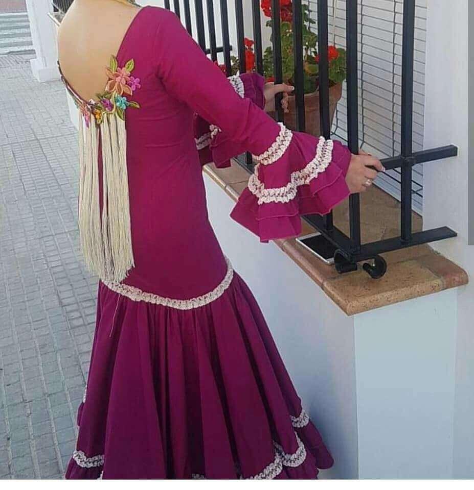 Imagen producto Traje flamenca T 36/38 4