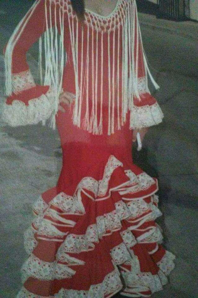 Imagen producto Traje flamenca T 36/38 5