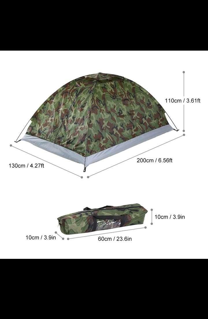 Imagen producto Tienda acampada 2 personas envío 2