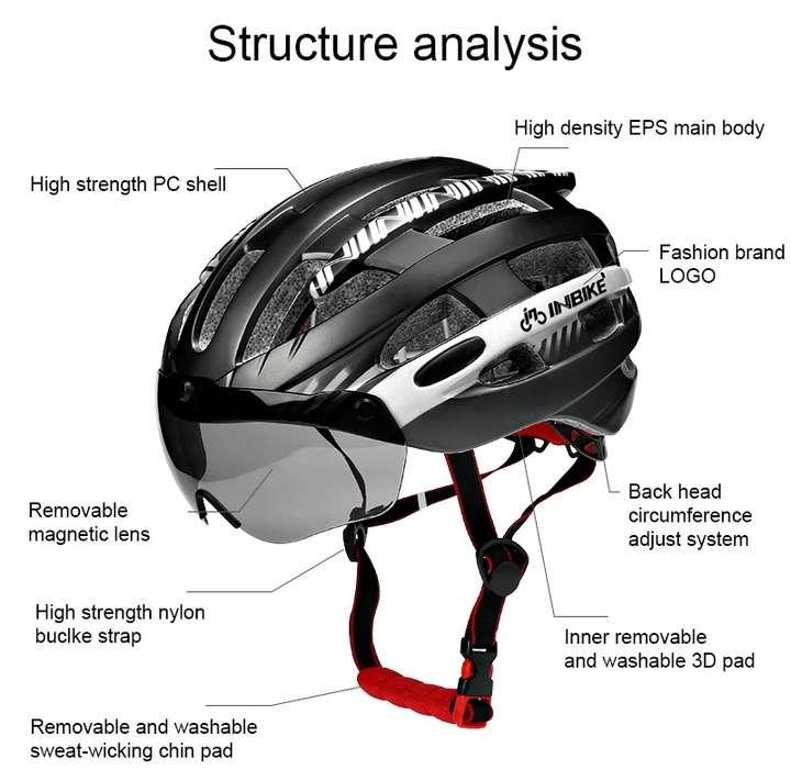 Imagen producto Casco bicicleta Inbike 1