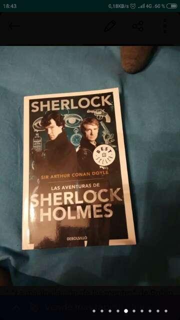 Imagen Libro Sherlock Holmes