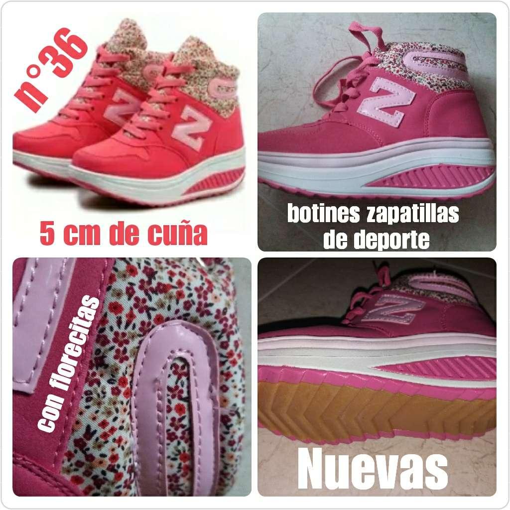 Imagen Botines zapatillas de deporte N°36 Nuevas.