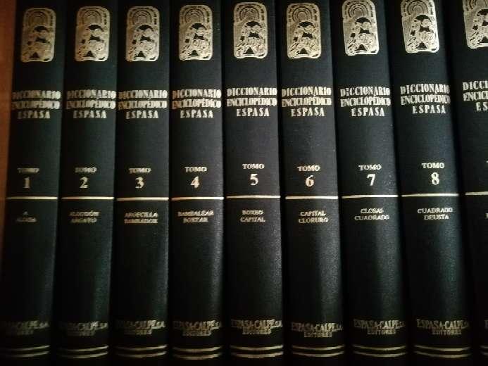 Imagen Diccionario enciclopédico Espasa