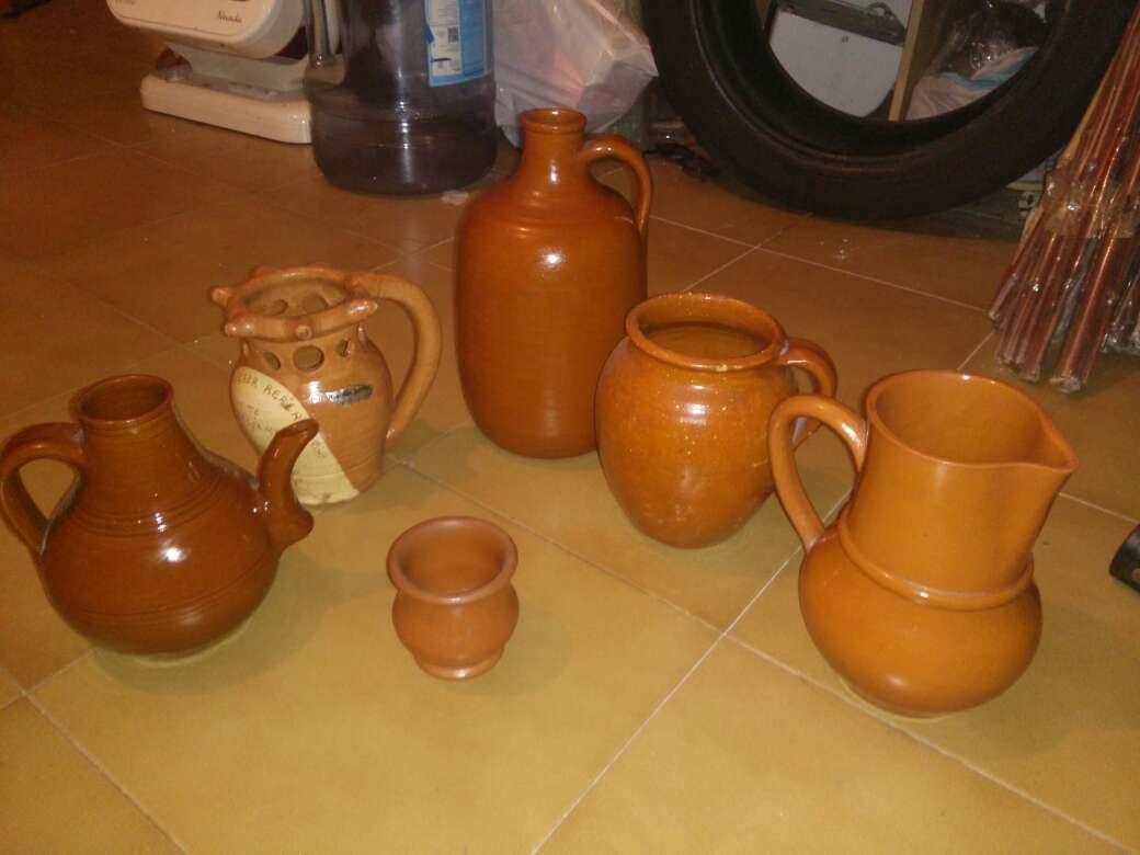 Imagen Lote de vasijas de barro antiguas