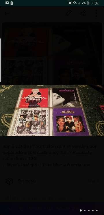 Imagen CDs de MADONNA
