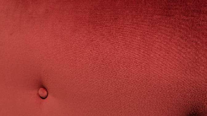 Imagen producto Cabecero de 90 NUEVO terciopelo rosa/rojizo 5