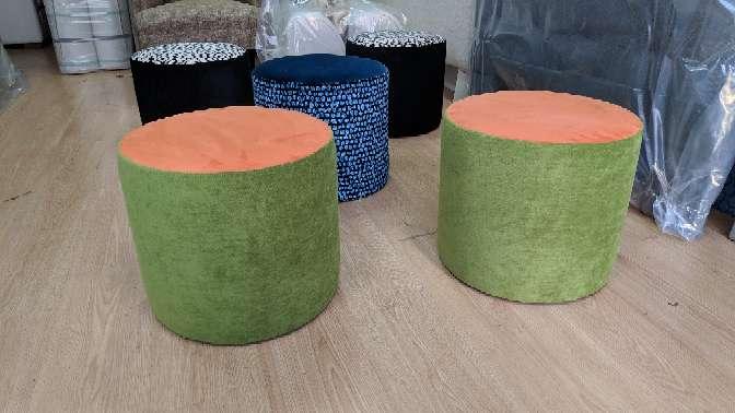 Imagen producto Puff NUEVOS diferentes colores Pierre Frey 3