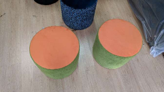 Imagen producto Puff NUEVOS diferentes colores Pierre Frey 2